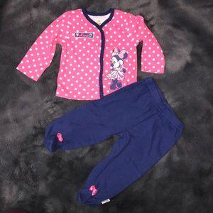 Disney branded pajamas